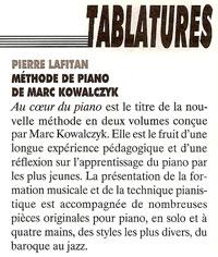Article de presse de la méthode de piano dans La-lettre-du-musicien-305-novembre-2004-p59
