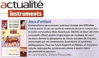 Article de presse de la méthode de piano dans diapason-520-decembre-2004-p-24